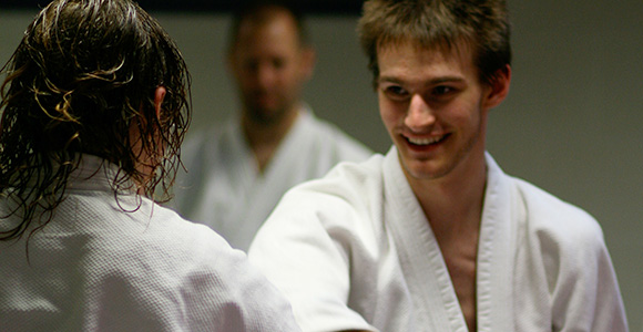 Aikido martial art classes Oxford