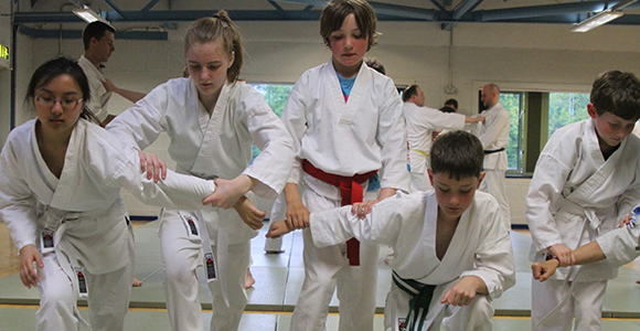 Children's martial arts classes Oxford