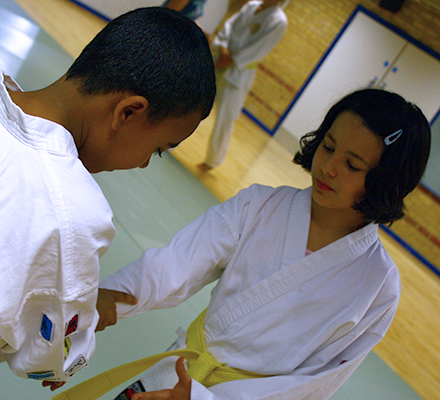 Children's Aikido in Oxford